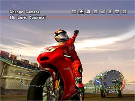 In game image of Ducati World Championship on the Valve Steam.