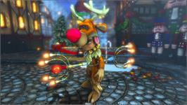 In game image of Dungeon Defenders - Etherian Holiday Extravaganza on the Valve Steam.
