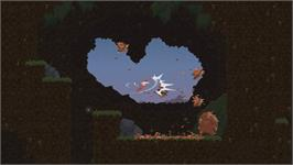 In game image of Dustforce on the Valve Steam.
