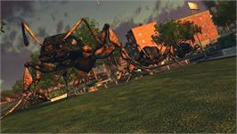 In game image of Earth Defense Force: Insect Armageddon on the Valve Steam.