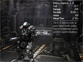 In game image of Earth Defense Force Battle Armor Weapon Chest on the Valve Steam.