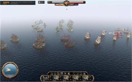 In game image of East India Company: Battle of Trafalgar on the Valve Steam.