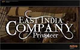 In game image of East India Company: Privateer on the Valve Steam.