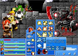 In game image of Epic Battle Fantasy 4 on the Valve Steam.