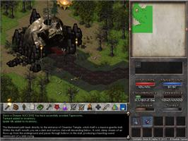 In game image of Eschalon: Book III on the Valve Steam.