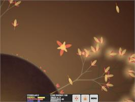 In game image of Eufloria on the Valve Steam.