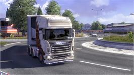 In game image of Euro Truck Simulator 2 on the Valve Steam.