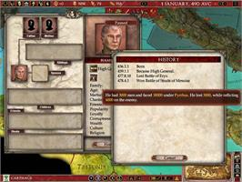 In game image of Europa Universalis: Rome - Gold Edition on the Valve Steam.