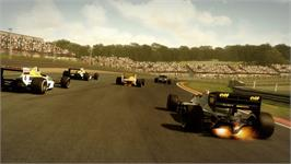 In game image of F1 2013 on the Valve Steam.