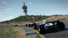 In game image of F1 Classics: 1990s Pack on the Valve Steam.