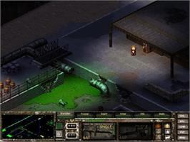 In game image of Fallout Tactics: Brotherhood of Steel on the Valve Steam.