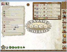 In game image of Fantasy Grounds - Savage Worlds Ruleset on the Valve Steam.