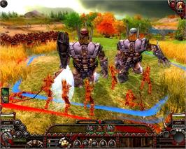 In game image of Fantasy Wars on the Valve Steam.