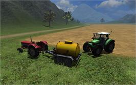 In game image of Farming Simulator 2011 Equipment Pack 1 on the Valve Steam.