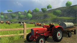 In game image of Farming Simulator 2013 - Classics on the Valve Steam.