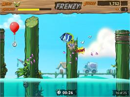 In game image of Feeding Frenzy 2 Deluxe on the Valve Steam.