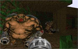 In game image of Final DOOM on the Valve Steam.