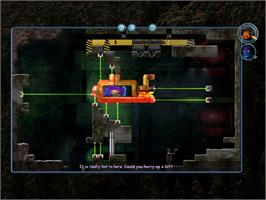 In game image of Fish Fillets 2 on the Valve Steam.