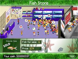 In game image of Fish Tycoon on the Valve Steam.