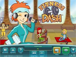 In game image of Fitness Dash on the Valve Steam.