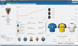 In game image of Football Manager 2012 on the Valve Steam.