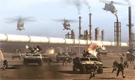 In game image of Frontlines: Fuel of War on the Valve Steam.