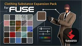 In game image of Fuse - Clothing Substances Expansion by Allegorithmic on the Valve Steam.