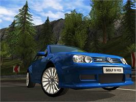 In game image of GTI Racing on the Valve Steam.