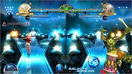 In game image of Galactic Bowling on the Valve Steam.