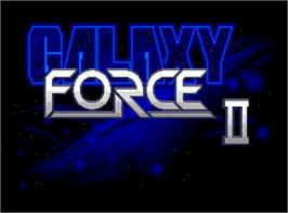 In game image of Galaxy Force II on the Valve Steam.