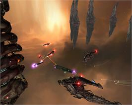 In game image of Genesis Rising on the Valve Steam.