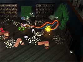 In game image of Ghostbusters: Sanctum of Slime on the Valve Steam.