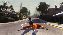 In game image of Goat Simulator on the Valve Steam.