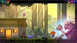 In game image of Guacamelee! Gold Edition on the Valve Steam.