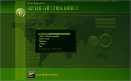 In game image of Hacker Evolution: Untold on the Valve Steam.