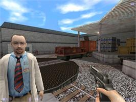 In game image of Half-Life: Blue Shift on the Valve Steam.