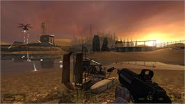 In game image of Half-Life 2 on the Valve Steam.