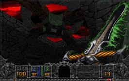 In game image of HeXen: Beyond Heretic on the Valve Steam.