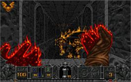 In game image of HeXen: Deathkings of the Dark Citadel on the Valve Steam.