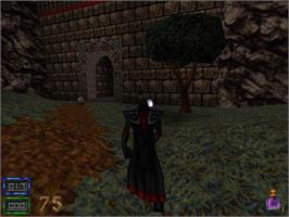 In game image of HeXen II on the Valve Steam.
