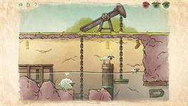 In game image of Home Sheep Home 2 on the Valve Steam.