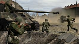 In game image of Iron Front: Liberation 1944 on the Valve Steam.