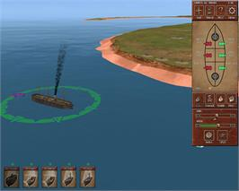 In game image of Ironclads: American Civil War on the Valve Steam.