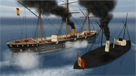 In game image of Ironclads: Chincha Islands War 1866 on the Valve Steam.