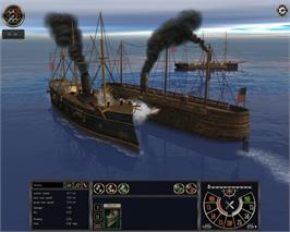 In game image of Ironclads: High Seas on the Valve Steam.