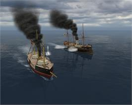 In game image of Ironclads: Schleswig War 1864 on the Valve Steam.