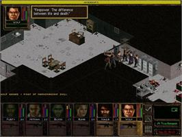 In game image of Jagged Alliance 2 Gold on the Valve Steam.