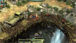 In game image of Jagged Alliance Online on the Valve Steam.