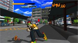 In game image of Jet Set Radio on the Valve Steam.