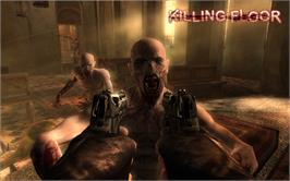In game image of Killing Floor on the Valve Steam.